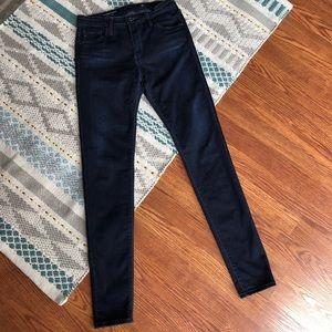 AG The Farrah High-Rise Skinny Jeans Sz 27 R